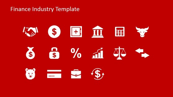 Stock Market Icons for PowerPoint