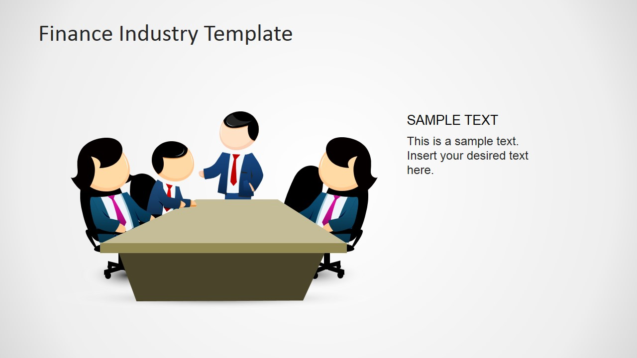 Finance Industry Clipart For Powerpoint Slidemodel
