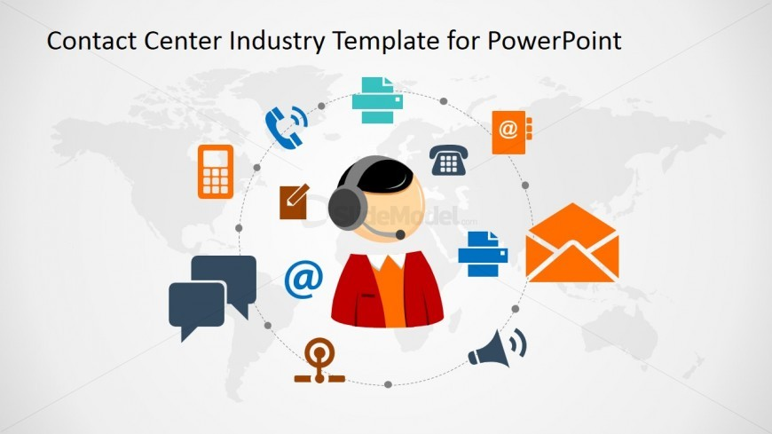 PowerPoint Slide for the Communication in Business