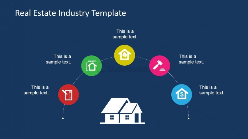 Generic Real Estate Icons for PowerPoint