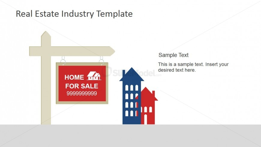 PowerPoint Scene Real Estate For Sale