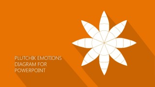 PowerPoint Diagram of Plutchik Emotions Theory