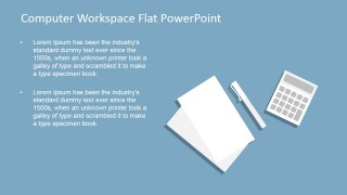 PowerPoint Template for Dream Workspace