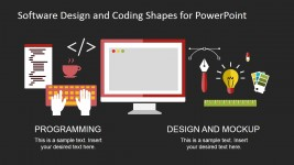 Graphic Design and Web Development PowerPoint Clipart