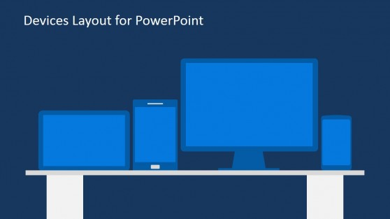 Shapes of Technology Devices for PowerPoint