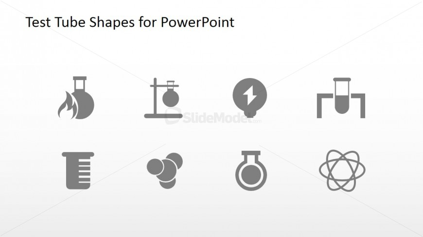 science project powerpoint icon set slidemodel