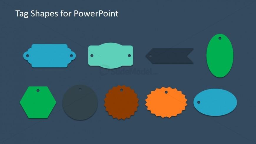 Modern Presentations through PowerPoint Flat Tags