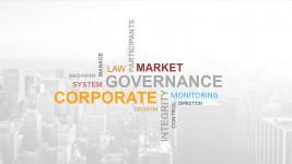 Word Cloud of Generic Corporate Terms