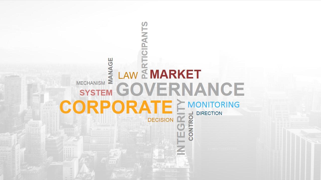 Generic Corporate Terms Wordcloud