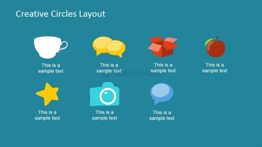 General Purpose PowerPoint Icons Flat Design