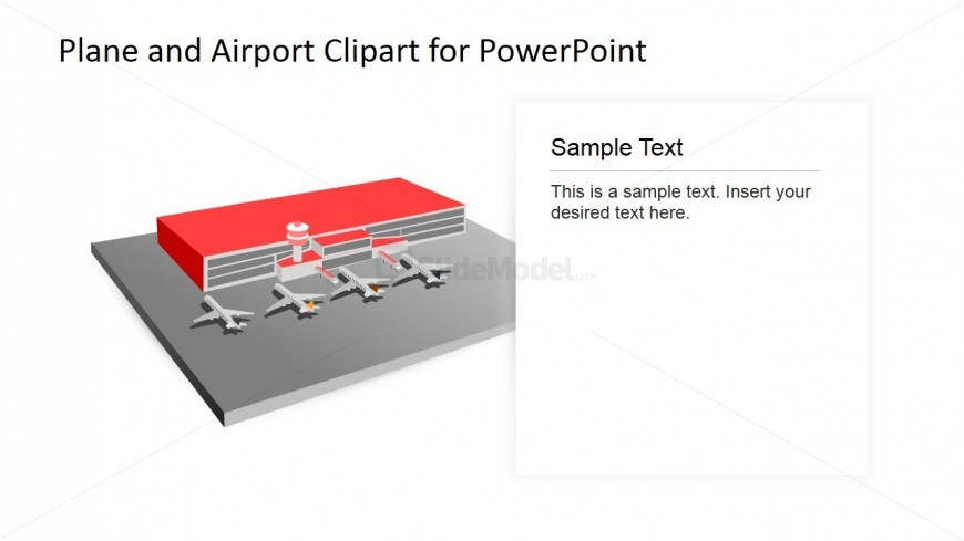 Airport and Planes PowerPoint Shapes