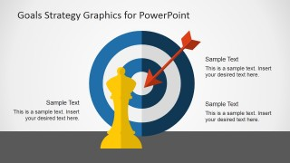 Target Goals Slide Design & Strategy Shapes for PowerPoint