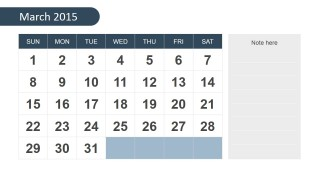 year 2015 calendar template