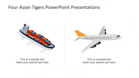 PowerPoint Clipart Logistics and Trade