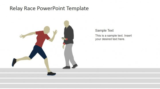 Coaching the Runner PowerPoint Scene