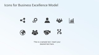 Clip Art Icons for Business Excellence PowerPoint Model (EFQM)