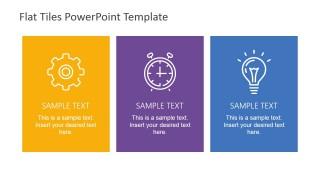 Flat Tiles Infographics Clipart