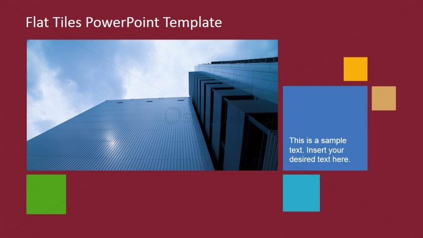 High Tower Scene with Text Placeholder