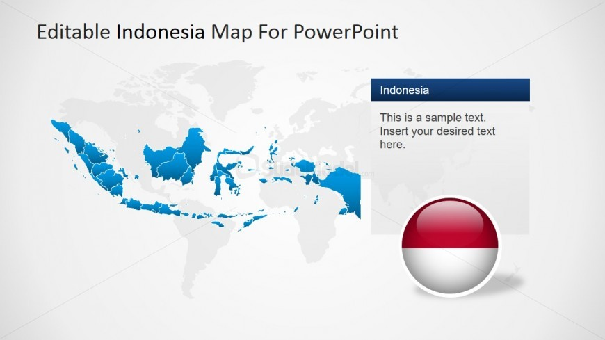Worldmap Background and Indonesia Map - SlideModel