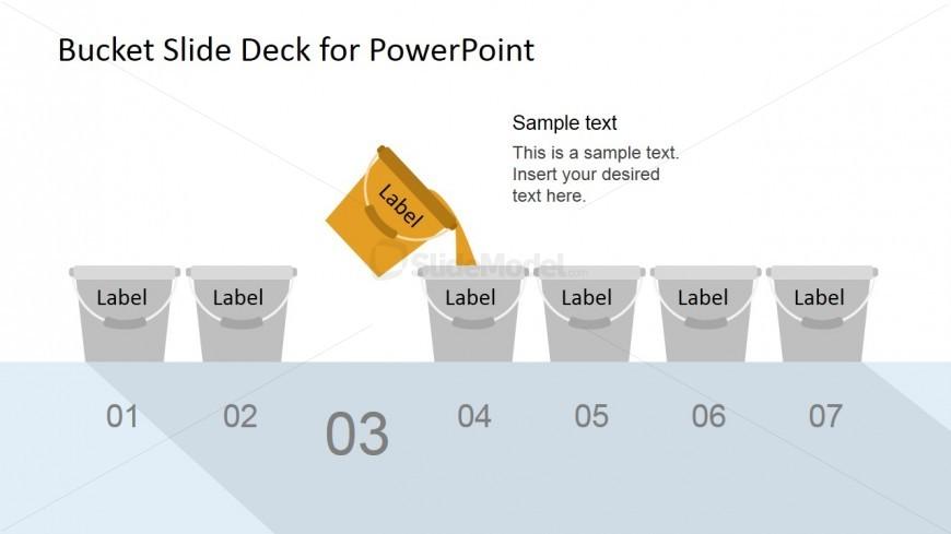 Single Yellow Bucket Third Steps Diagram