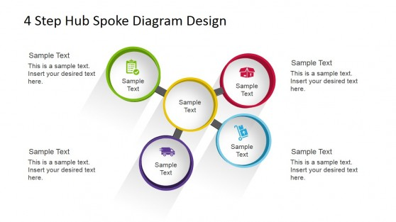 spoke diagrams for powerpoint