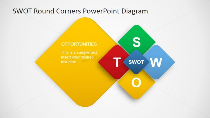 PowerPoint Diagram for SWOT Opportunities Findings