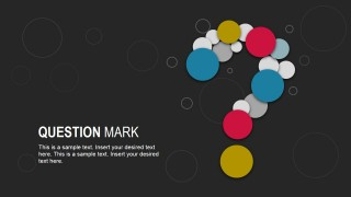 Creative Question Mark Diagram for PowerPoint