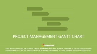 Project Management Gantt Chart for PowerPoint