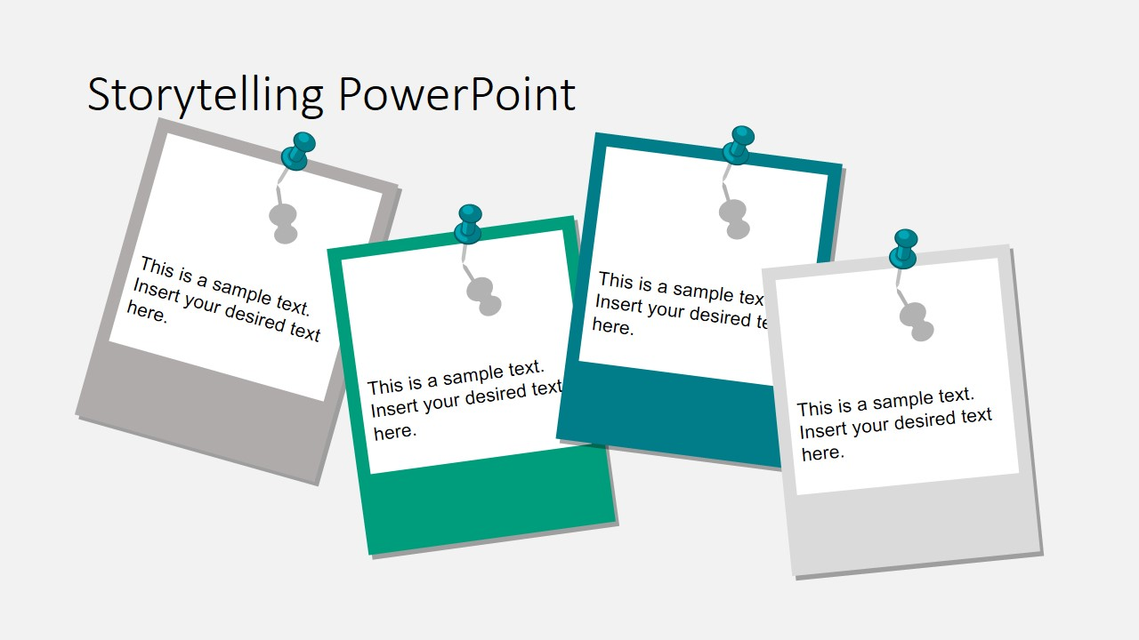 storytelling theme powerpoint template slidemodel