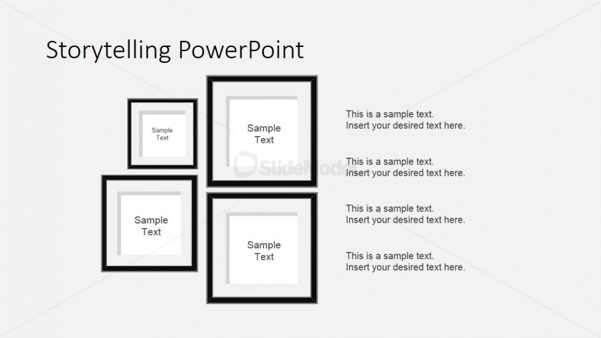 PowerPoint Portrait Shapes for Storytelling Characters Description