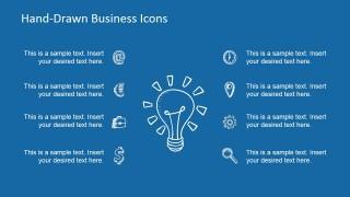 Hand-Drawn Light Bulb Business Idea