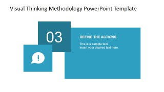 Define the Actions PowerPoint Slide