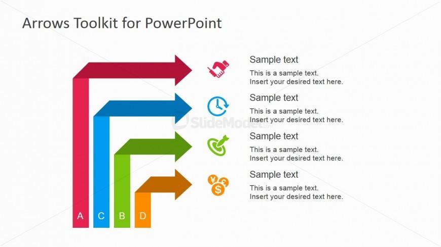 Multi-arrow Slide Design