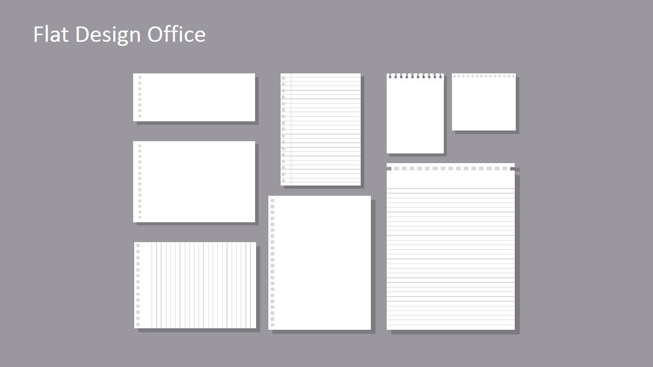 Flat Design Office PowerPoint Templates SlideModel – Office Powerpoint Template