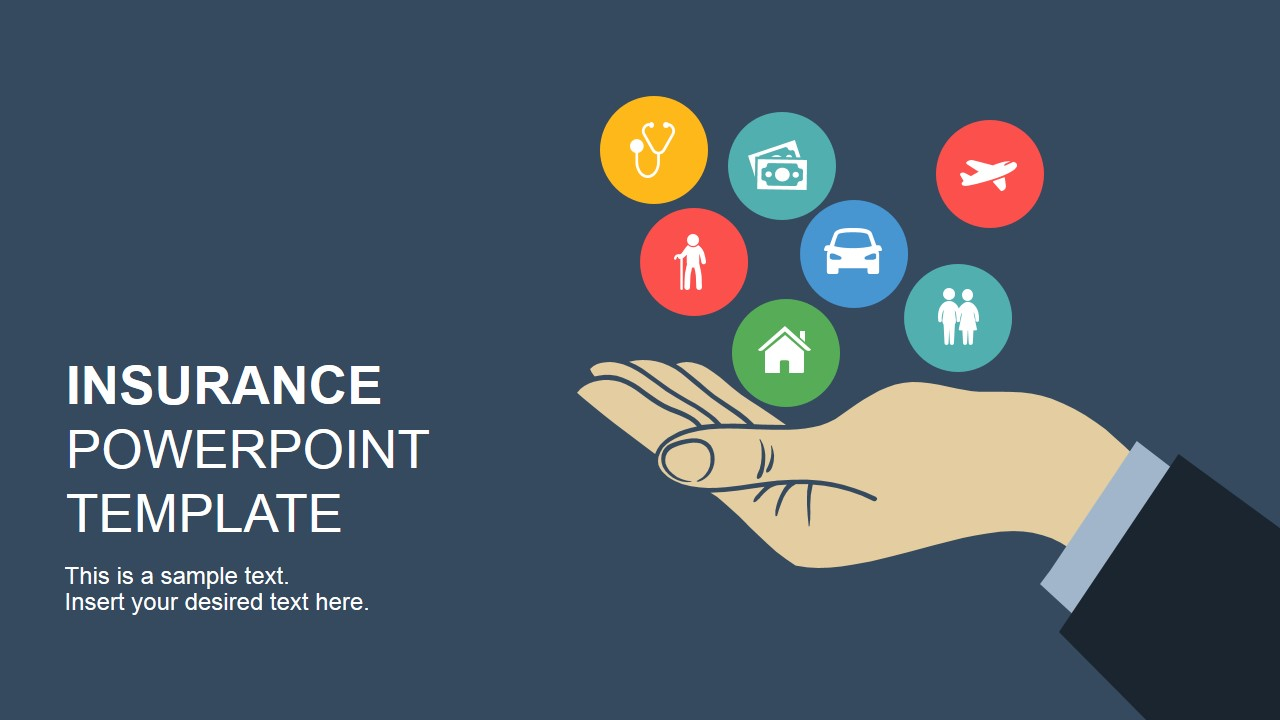 insurance free template  Insurance PowerPoint Template - SlideModel