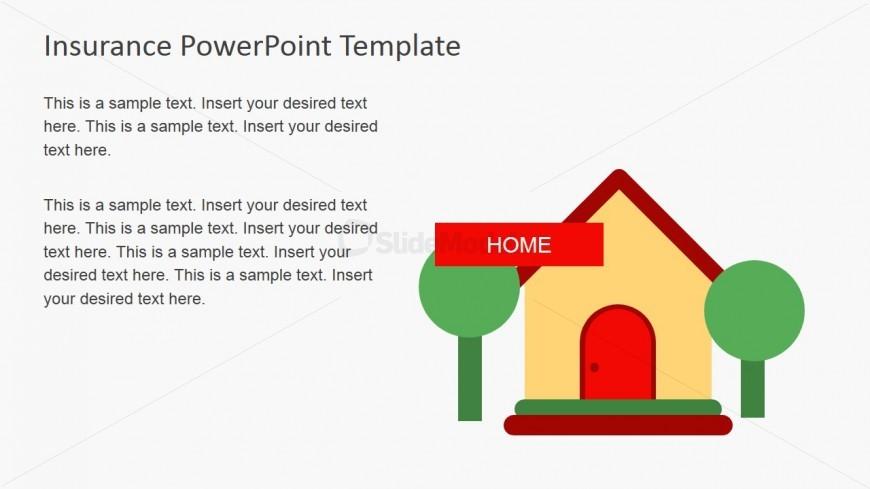 Insurance Home Slide Design