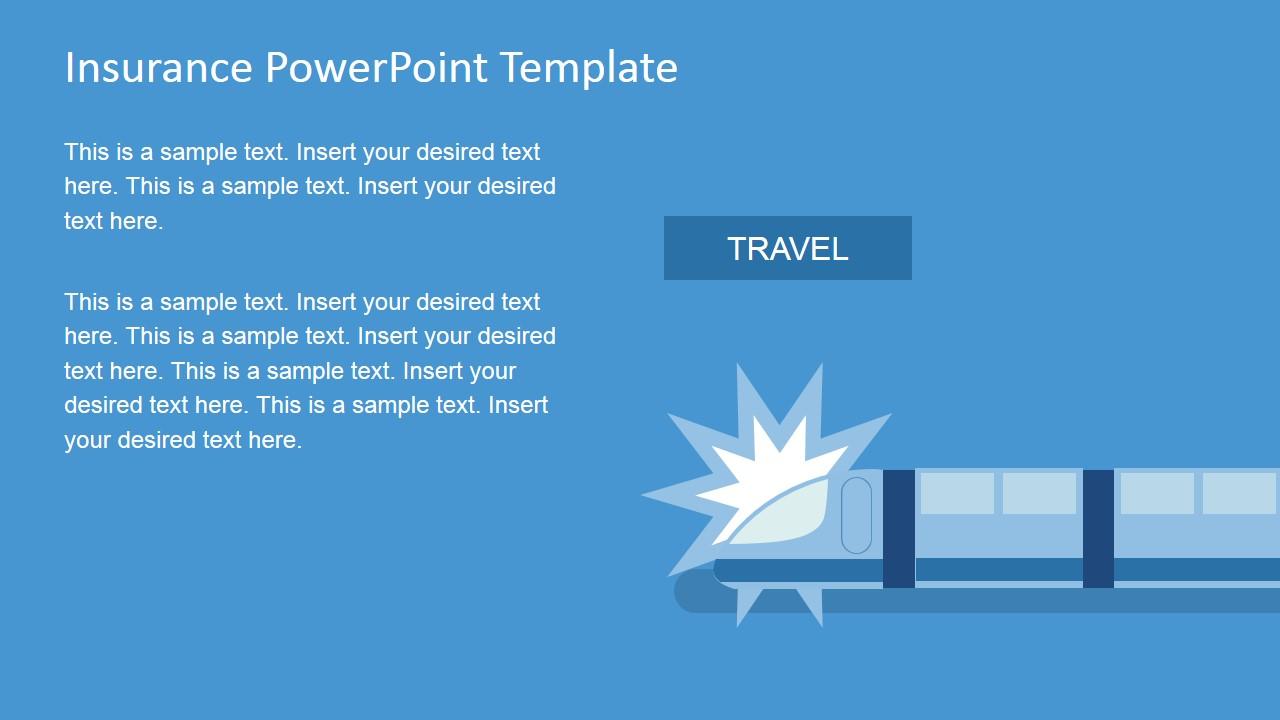 Insurance powerpoint template slidemodel insurance train accident powerpoint slide toneelgroepblik Image collections