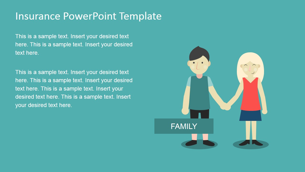 insurance powerpoint presentation templates  Insurance PowerPoint Template - SlideModel