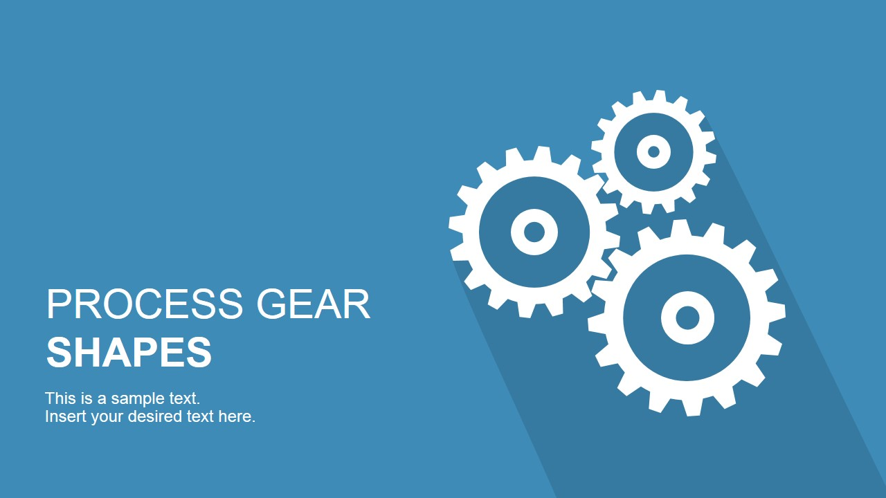 Process Gears for PowerPoint Slide Design
