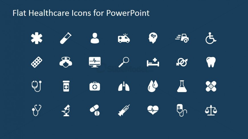 28 medical powerpoint icons