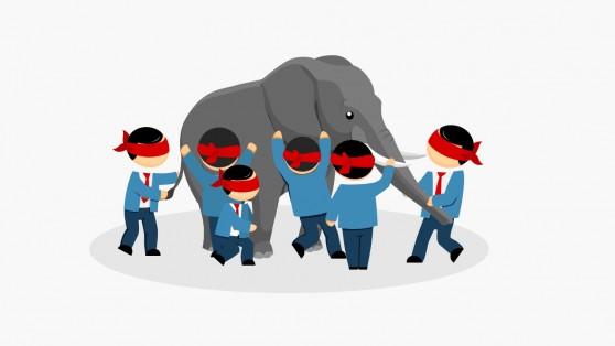 Blind Men And Elephant Metaphor Slides