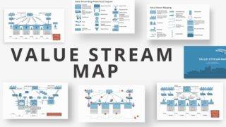Value Stream Map PowerPoint Diagram