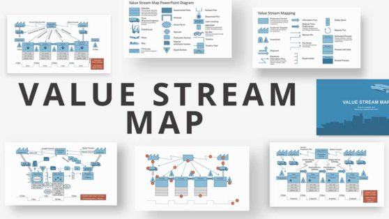 Professional Value Stream Map PPT