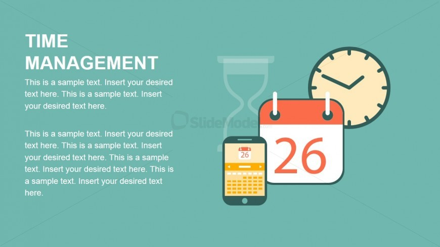 Time Management Metaphor PowerPoint Icons