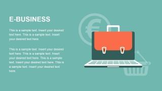 PowerPoint Template Metaphor E-Business