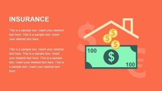Flat Insurance Design for PowerPoint