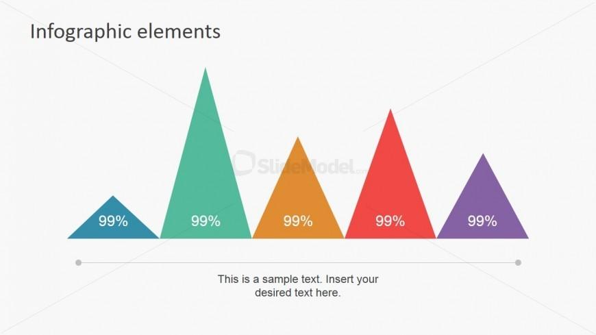 PowerPoint Pyramid Column Chart