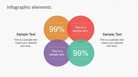 Folded powerpoint templates venn diagram infographic labels ccuart Images