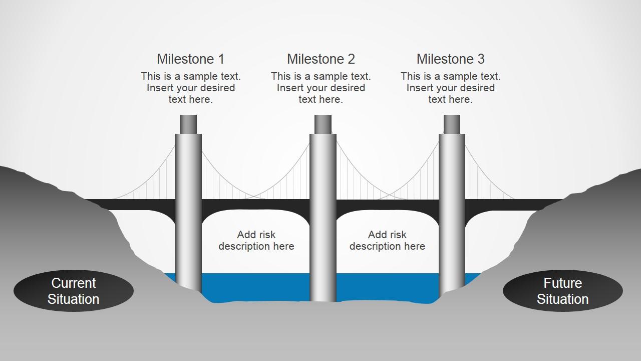 Chain bridge powerpoint diagrams slidemodel ccuart Gallery