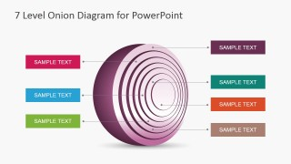 7 level onion diagram design for powerpoint slidemodel 7 level onion diagram design for powerpoint is a creative onion diagram for presentations that you can use as an alternative to traditional onion charts ccuart Gallery